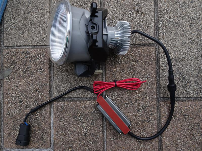 シェアスタイル LED フォグ&デイライト 取付