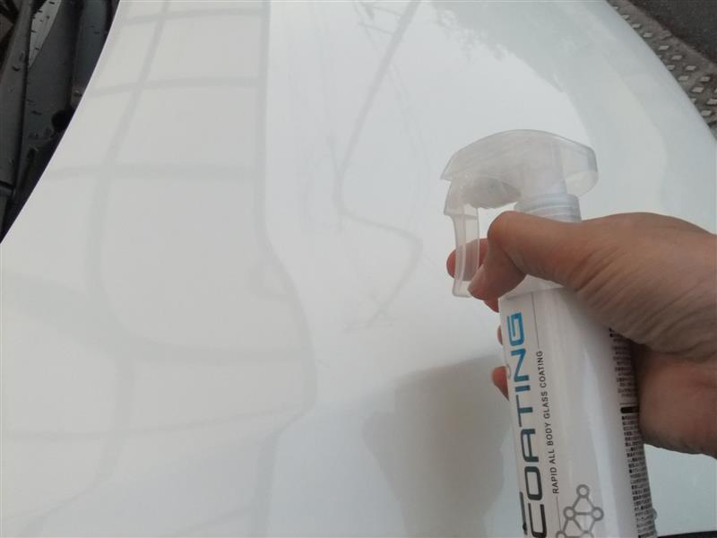 e-くるま ガラスコーティング施工