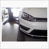 車高調取付の画像