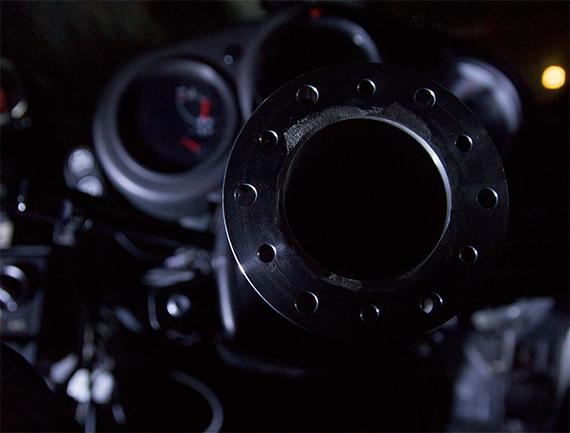 GarageBabel ステアリング用ロングボススペーサー100mm