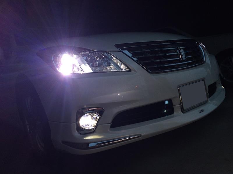 純正LEDフォグランプ&デイタイムランニングランプ取付け