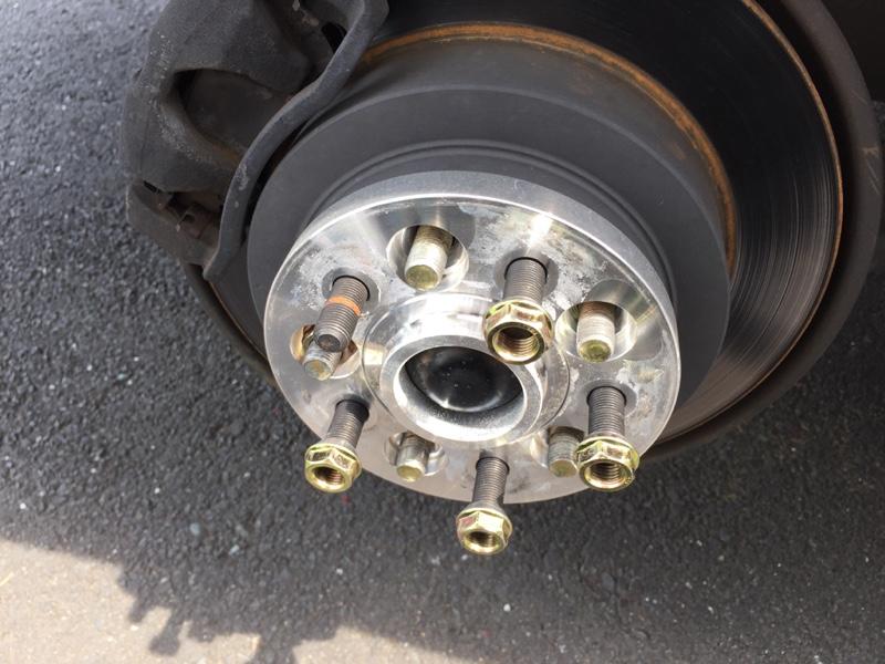 タイヤとアルミ交換