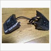 ハンドルを持ちながらナビを操作できるようになるスイッチを買った。<br /> モデルによりいろいろと種類があり、購入時に品番が適合するか確認する必要あり。<br /> <br /> POPSTARでオプションナビを装着していない場合は<br /> H0017FJ964<br /> <br /> ステアリングコントロールの付いたハーネスを使用していれば、カプラーオンで配線加工必要なし。<br /> パナソニックナビでJFCのハーネスでは<br /> アースは茶黒でかみ合うギボシ。<br /> 青黄は茶黄、茶は茶白。