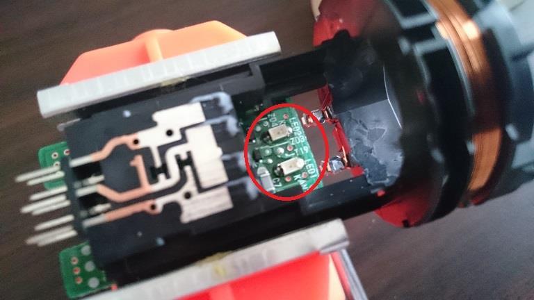 LED打ち替え プッシュスタートスイッチ その2