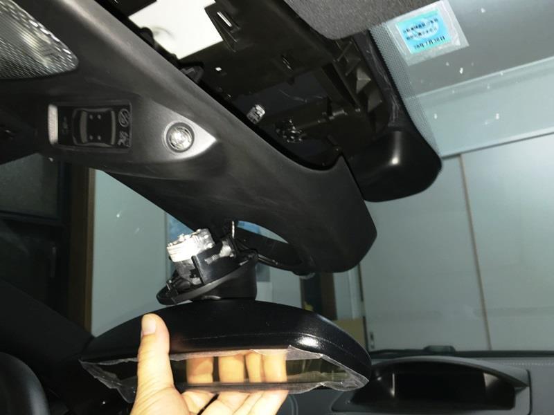 RCZに208/2008用ルームミラーモニターを装着してみる♪