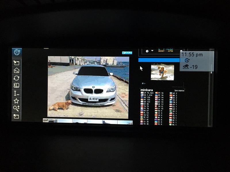 E60 BMW CIC+COMBOX = インターネット & BMWオンライン(LIVE)
