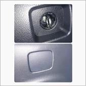 ロングアイボルトを締めた状態です。ちなみにアイボルトがあっても樹脂メクラカバーは取付られるので使用しない時はアイボルトを隠すことは出来ます。