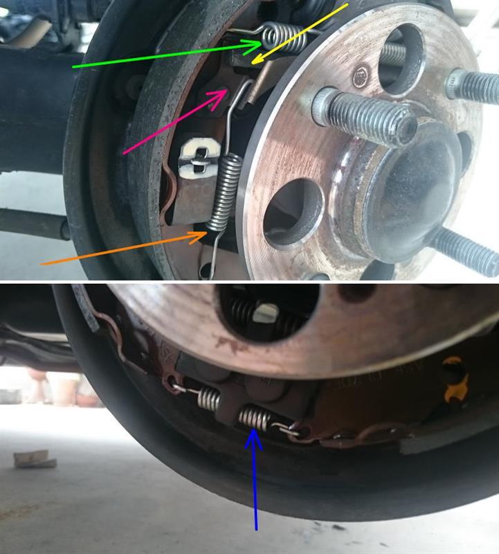 ドラムブレーキ カップキット交換