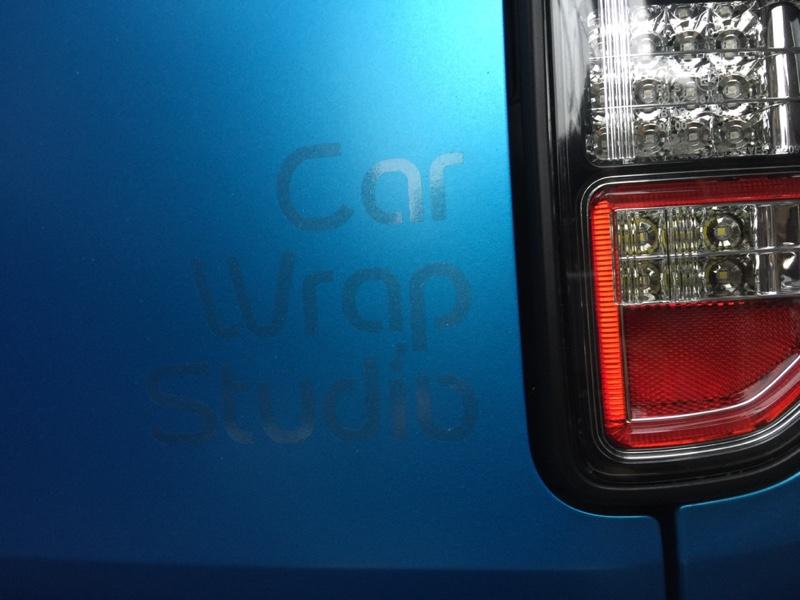 car wrap stadio フルラッピング