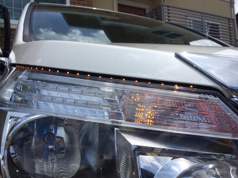LEDテープ・流れるウインカー(^O^)