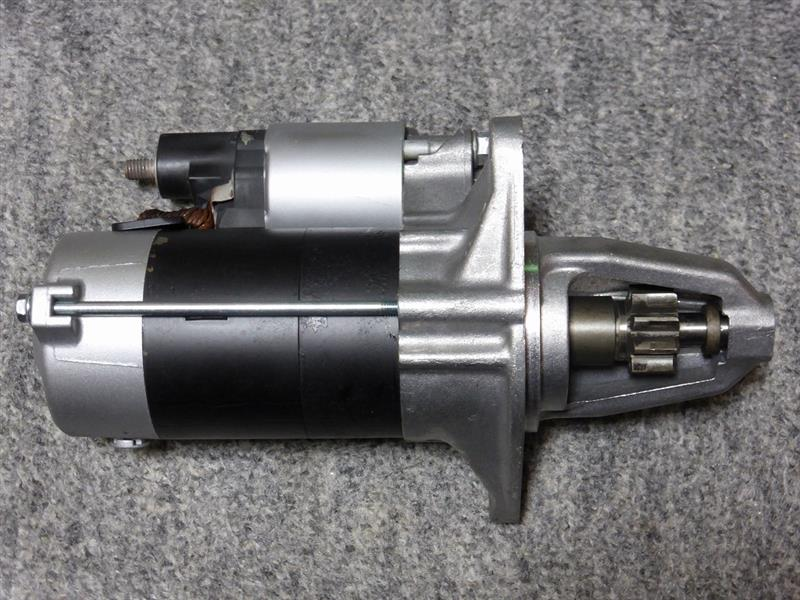 エンジンスターター(セルモーター)交換