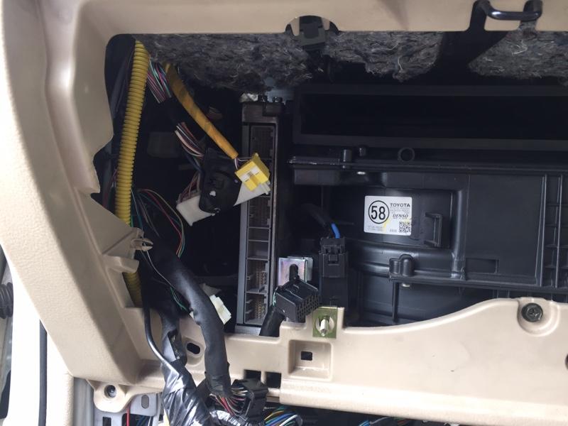 壊したボディーコンピューターの修理