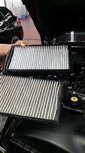 B7スーパーチャージ エアコン・マイクロフィルターの交換のカスタム手順1