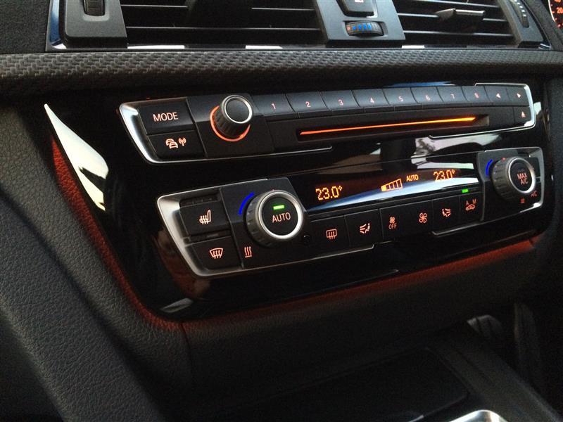 BMW(純正) F30 LCI エアコンパネル 交換編