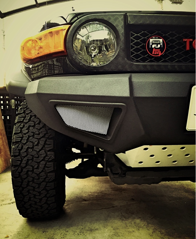 Modified Front Bumper Air duct-style