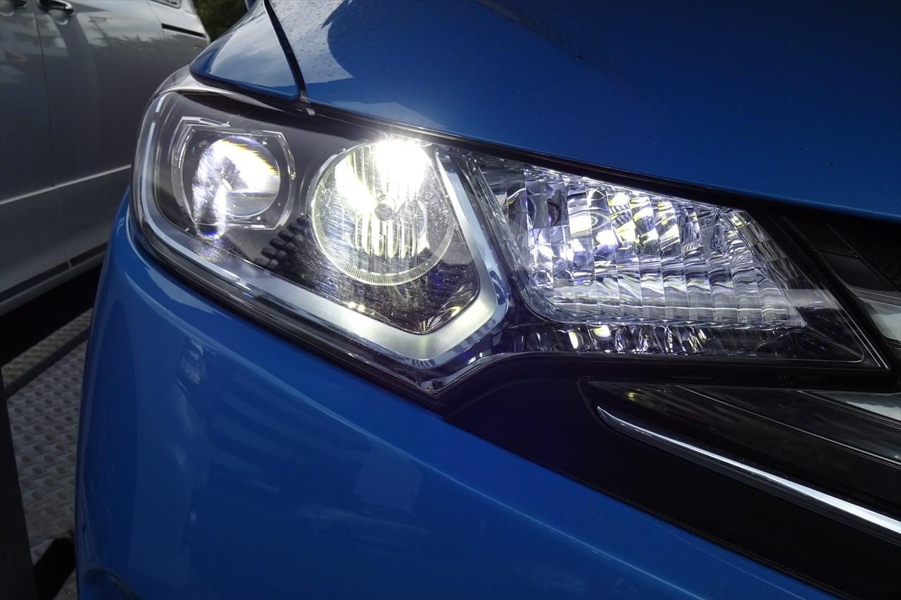 fcl.LEDヘッドライト取り付け