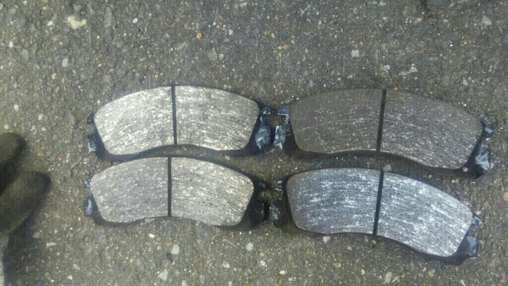 フロントブレーキオイル&ブレーキパッド交換