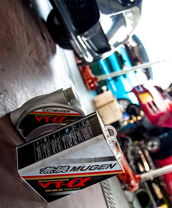MUGEN / 無限 Hi-Performance Engine Oil VT-α 5W-40