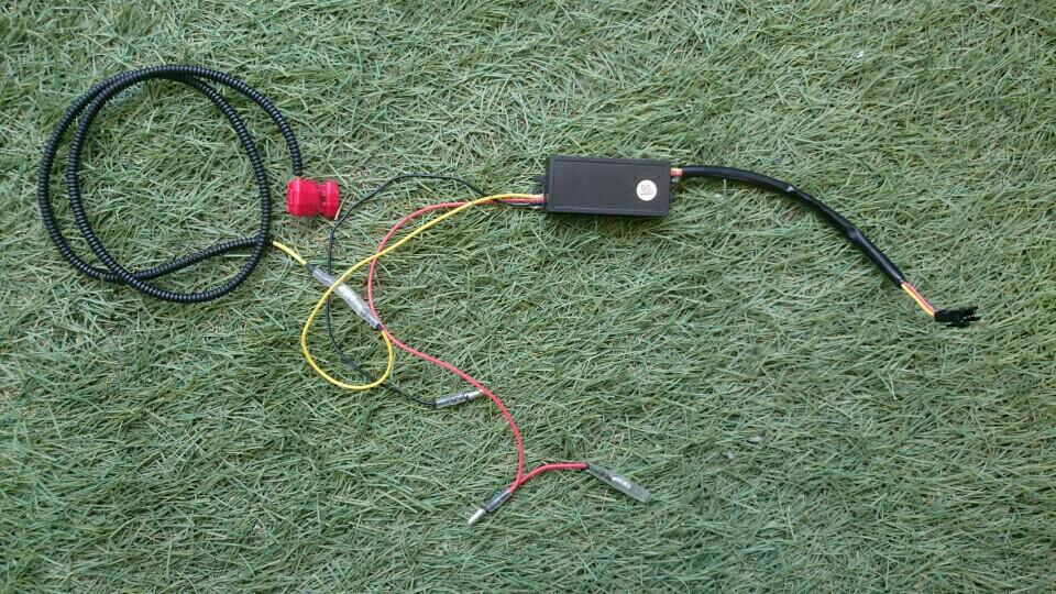 不明 流れるウインカー 白/橙ツインカラー LEDデイライト 30cm取り付け Vol,1(下準備編)