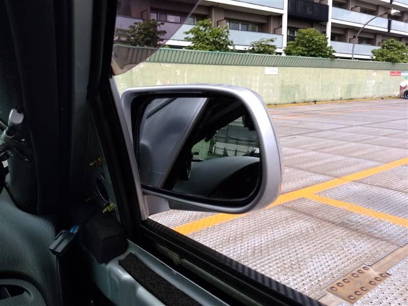 運転席ドアミラー交換