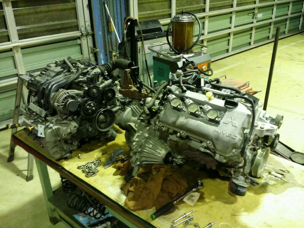 エンジン載せ変え(3B20)