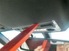 M3 クーペ フロントルームランプ&マップランプLED化のカスタム手順1