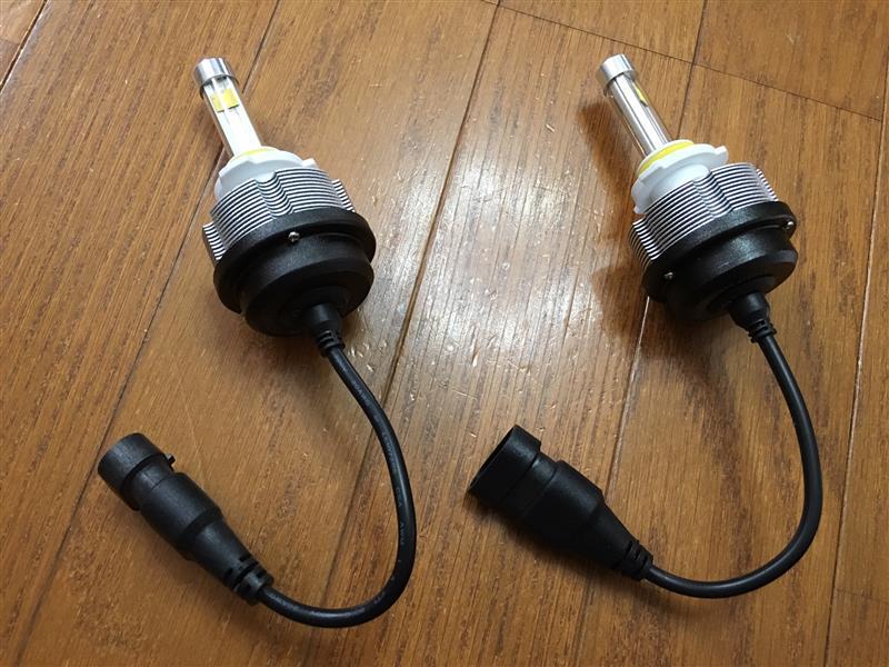 fcl. LEDヘッドライト(HB3)取り付け