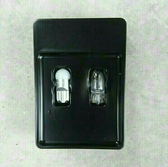 ライセンスランプ交換・LED化(/▽\)♪