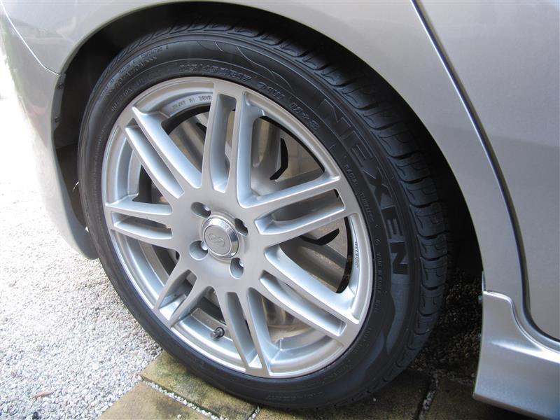 ネクセン N7000 Plus 215/45R17 タイヤ交換