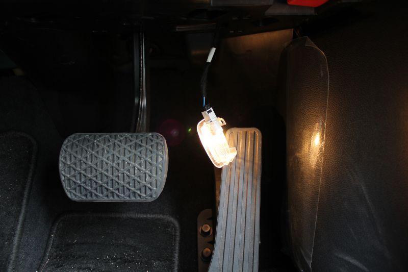 室内照明LED化③フットライト(足元灯)