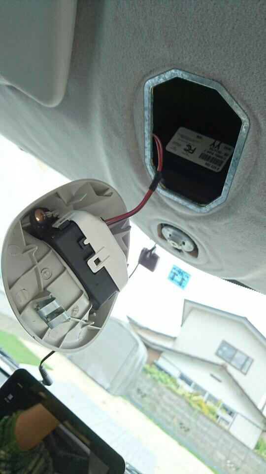 BMW MINI ミニ R50 時計 塗装