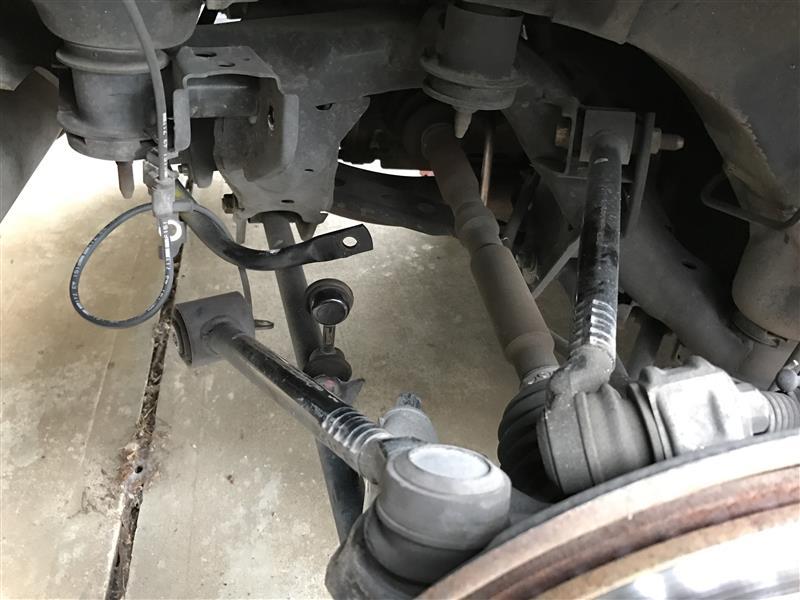 ラルグス 車高調 カートリッジ交換