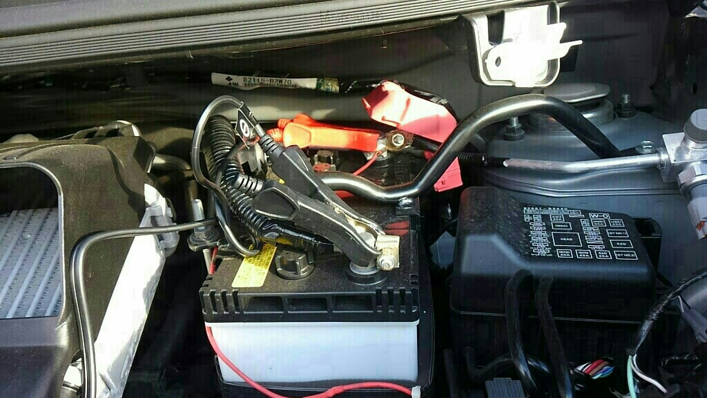 バッテリー充電