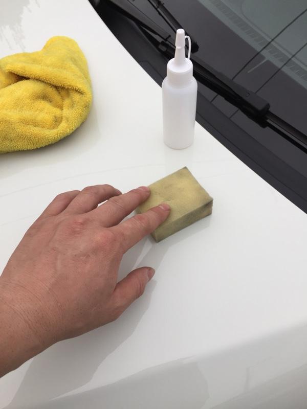 DIY 磨き ガラスコーティング