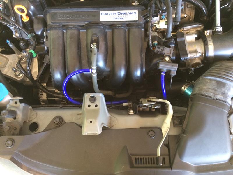 インマニ計センサーホース交換