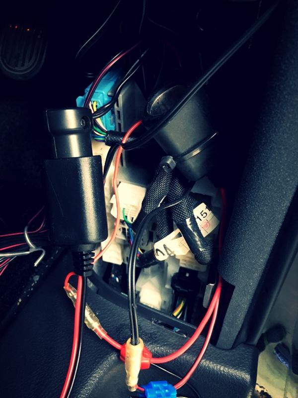 ドライブレコーダー取付け