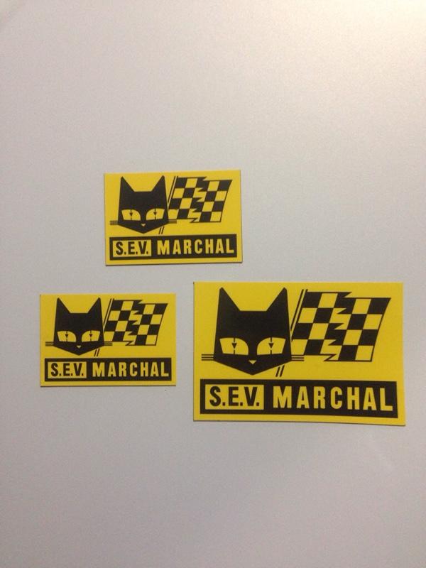 S.E.V. MARCHAL マグネットステッカー作製