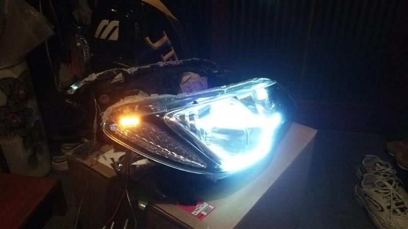 ヘッドライト前期改造2