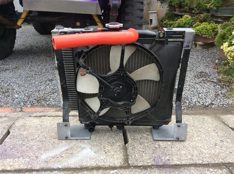 SJ30ジムニーにJA11のエアコン取り付け⑮