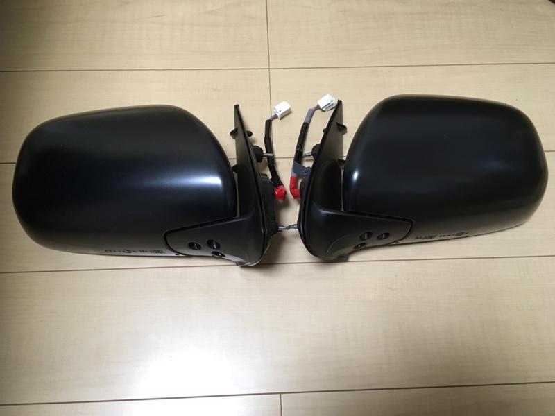サイドミラー4型仕様化