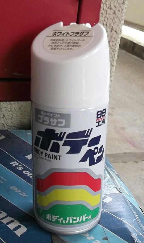 古いナットを塗装してみた(^_^;)
