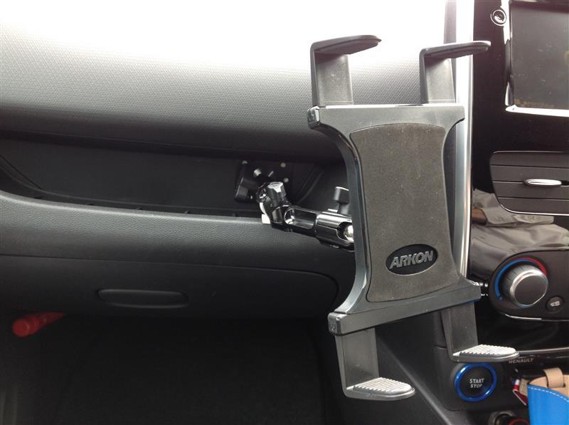 Arkon TAB806 タブレットホルダー取付
