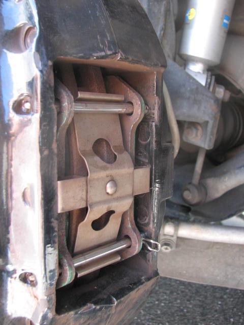 H28車検整備完結編 前ブレーキ・ライト