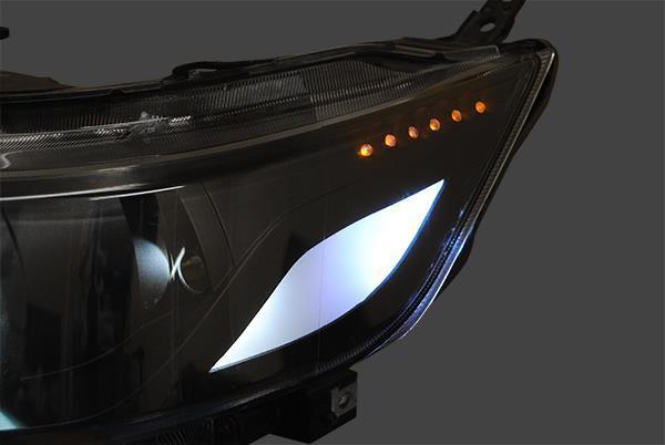 【極/kiwamiカスタマイズ】選べるアクリルイルミカラー 選べるイカリングヘッドライト