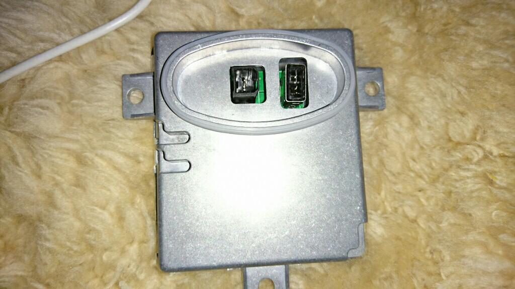 バラスト交換&ライト内の水滴除去