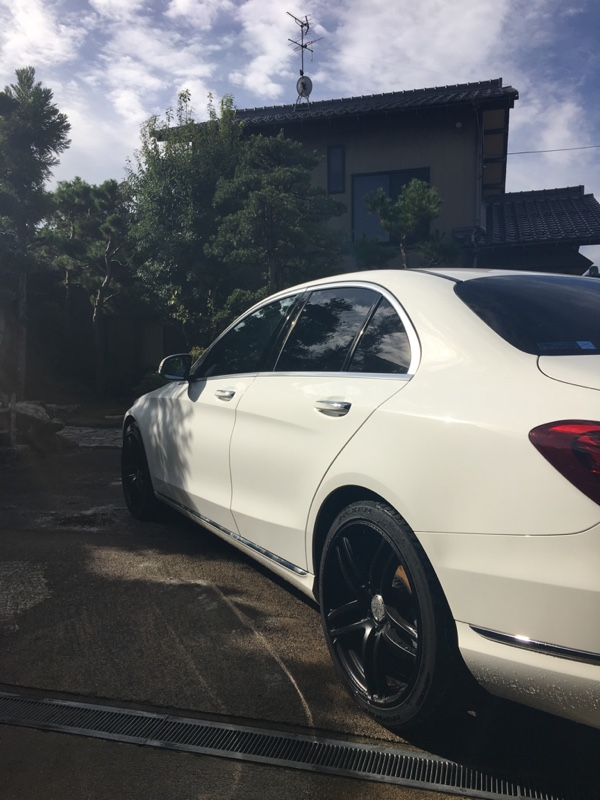 お久しぶりの洗車なり
