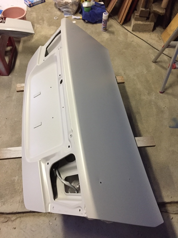 トランク塗装
