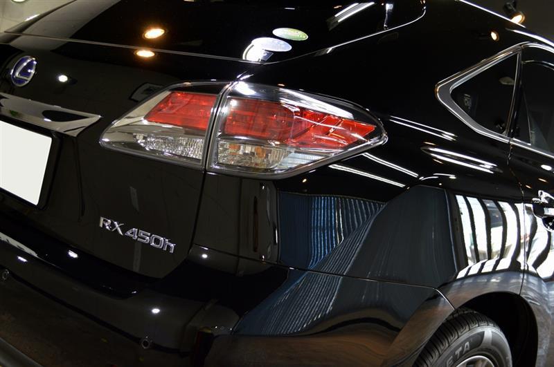 漆黒の黒 レクサスRX450hのガラスコーティング【リボルト千葉】