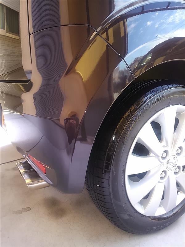 やっと…洗車できました。