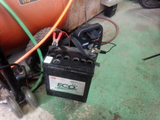 バッテリー補充電